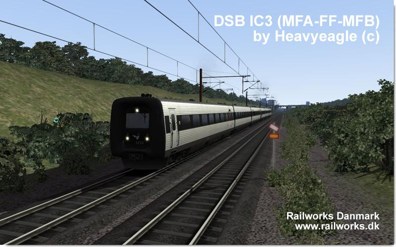 DSB IC3 for Train Simulator 2014