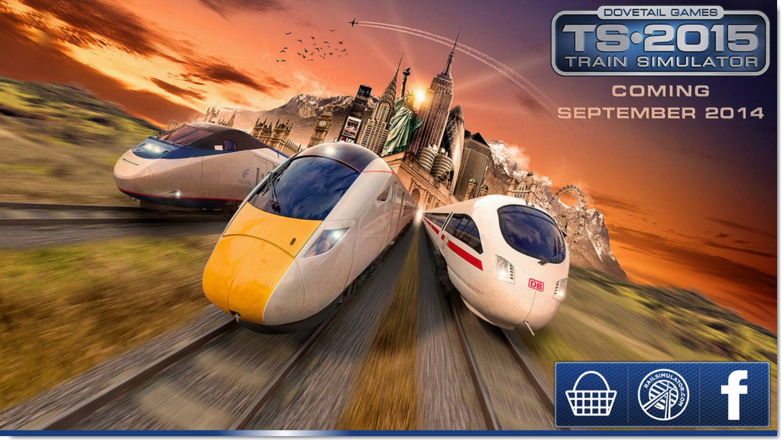 Train Simulator 2015 udkommer til september