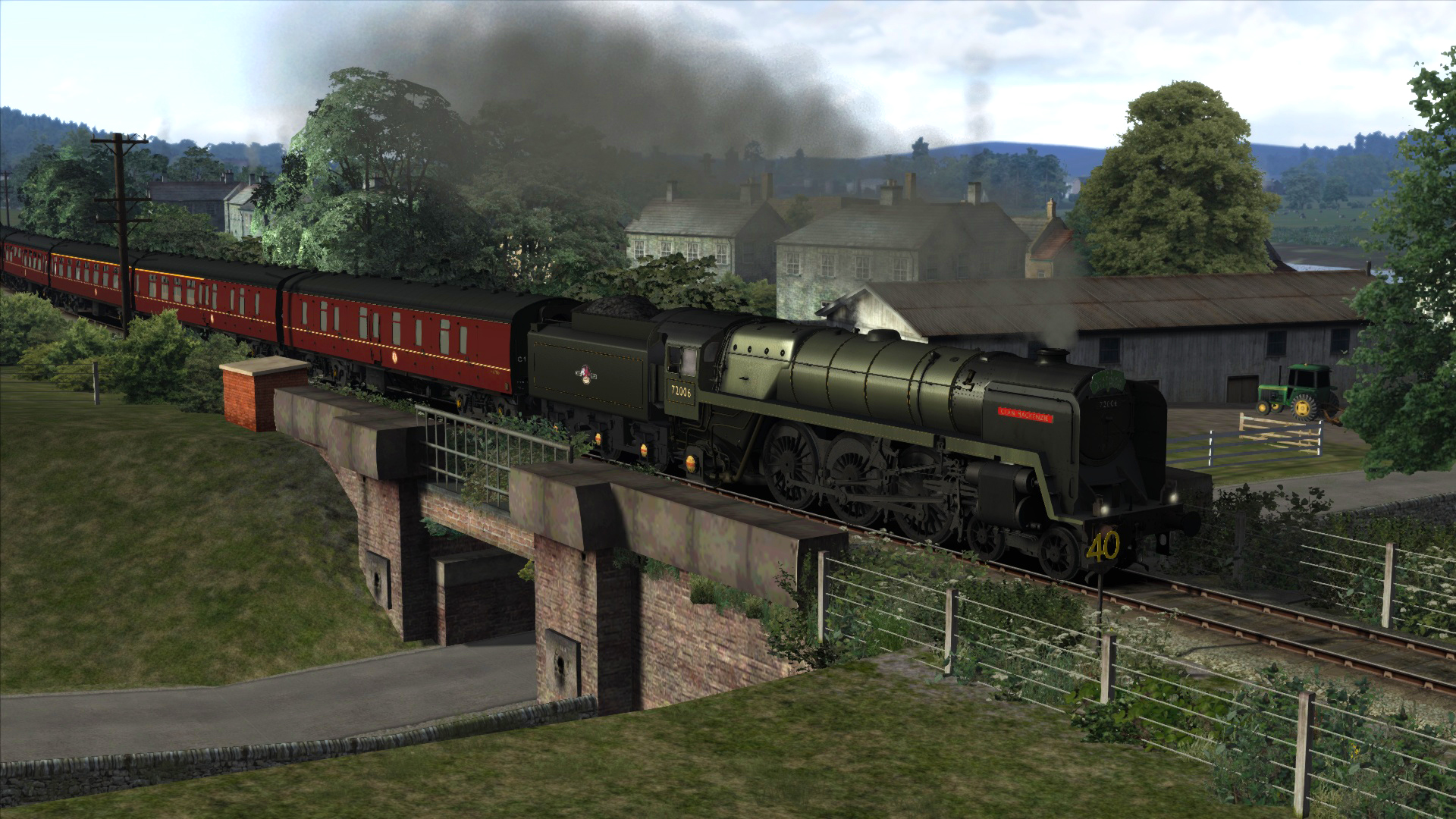 BR 6MT Clan Class Loco