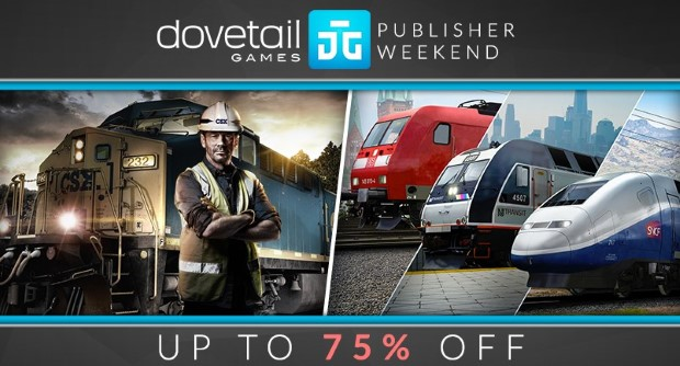 DTG Publisher weekend 75pct off