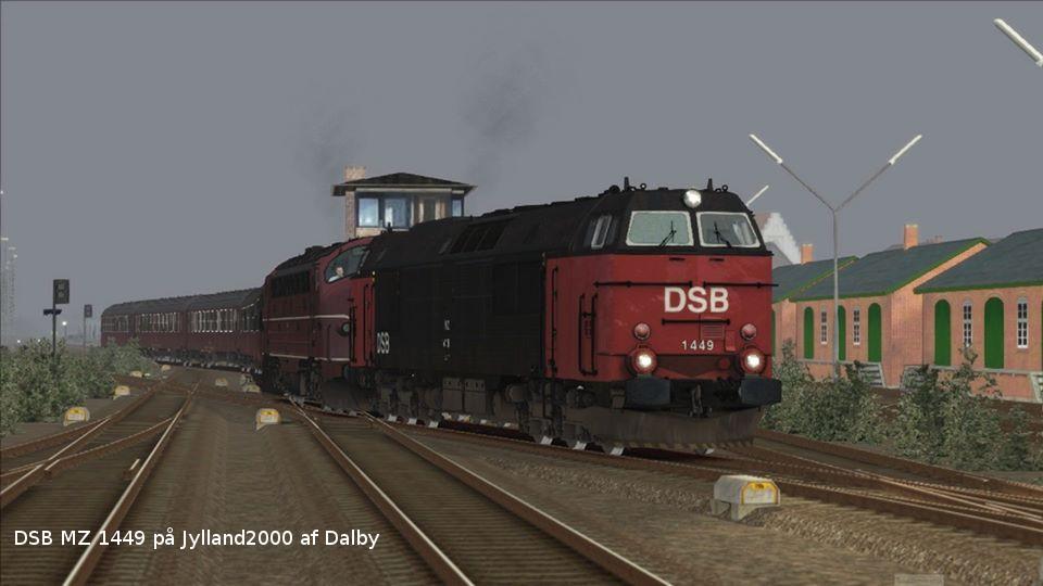 DSB MZ 1449 på Jylland2000